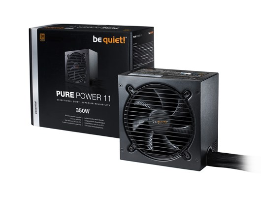 Be Quiet! Pure Power 11 350W 80+ Bronze PSU