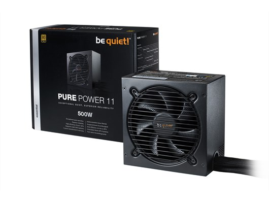 Be Quiet! Pure Power 11 500W 80+ Gold PSU