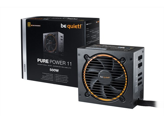 Be Quiet! Pure Power 11 CM 500W Semi-Modular PSU