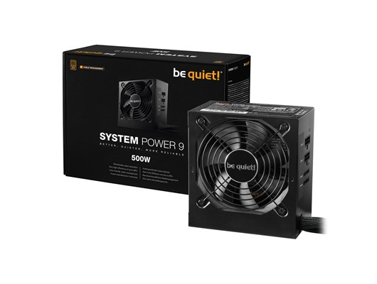 Be Quiet! System Power 9 CM 500W Modular PSU