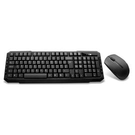 CiT EZ-Touch Wireless Keyboard and Mouse Combo Set (Black)