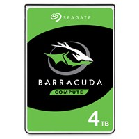 Seagate BarraCuda (4TB) 2.5 inch Hard Disk Drive (5400rpm) SATA 6Gb/s 128MB (Internal) *Open Box*
