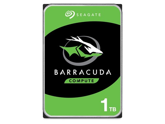 Seagate BarraCuda (1TB) 3.5 Inch SATA Hard Disk Drive (Internal) *Open Box*