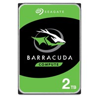 Seagate BarraCuda (2TB) 3.5 inch Hard Disk Drive SATA 6Gb/s (Internal) *Open Box*