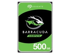 "Seagate BarraCuda 500GB SATA III 3.5"" HDD"