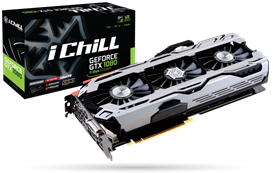 INNO3D GeForce GTX 1080 iChill X4 8GB Card