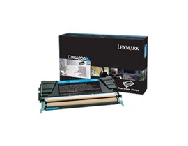 Lexmark Corporate (Yield: 7,000 Pages) Cyan Toner Cartridge for C746/C748 Printers