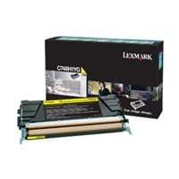 Lexmark (High Yield: 10,000 Pages) Yellow Toner Cartridge for C748 Printers