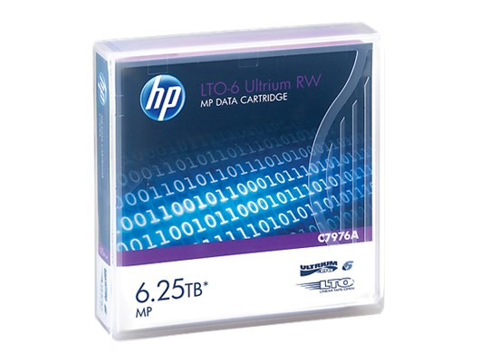 HP LTO Ultrium (6.25TB) LTO-6 RW Data Tape Cartridge (Purple)
