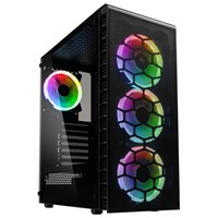 Kolink Observatory Lite Mesh Mid Tower Gaming Case - Black USB 3.0