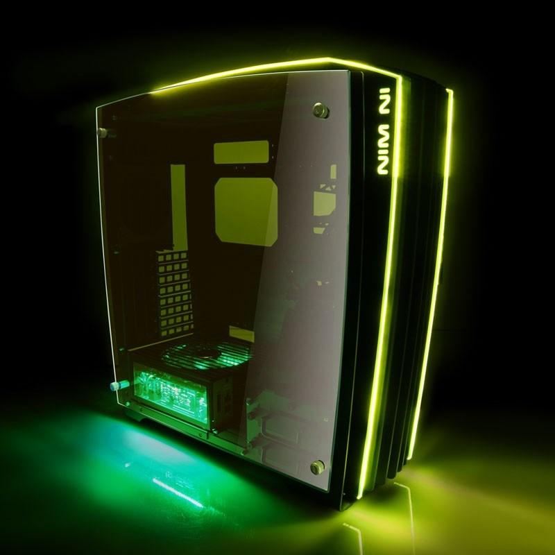 Inwin H-Frame 2.0 Full Tower Gaming Case - Black USB 3.0 - H-Frame ...