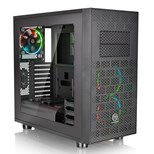 Thermaltake Core X31 Black Mid Tower Case With 3 x 120mm RGB Riing Fans & Window