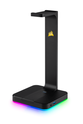 Corsair ST100 RGB Premium Headset Stand with 7.1 Surround Sound (Black) (EU)