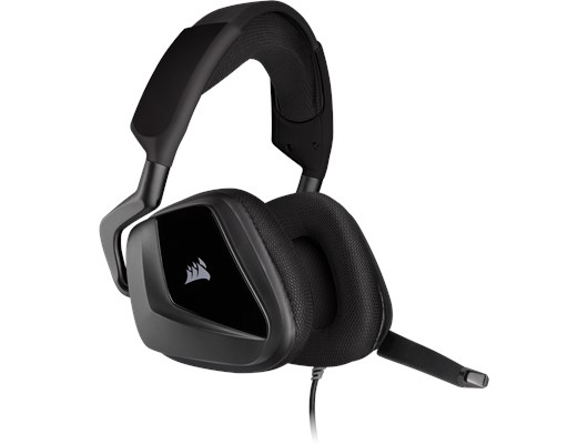 Corsair Void Elite Surround Premium Gaming Headset with 7.1 Surround Sound (Carbon)