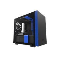 NZXT H200 Mini Tower Gaming Case - Blue USB 3.0