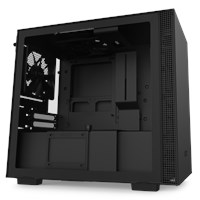 NZXT H210 Mini Tower Gaming Case - Black USB 3.0
