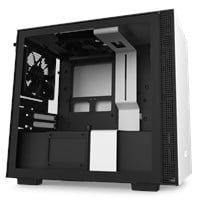 NZXT H210 Mini Tower Gaming Case - White USB 3.0