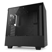 NZXT H500 Mid Tower Gaming Case - Black USB 3.0