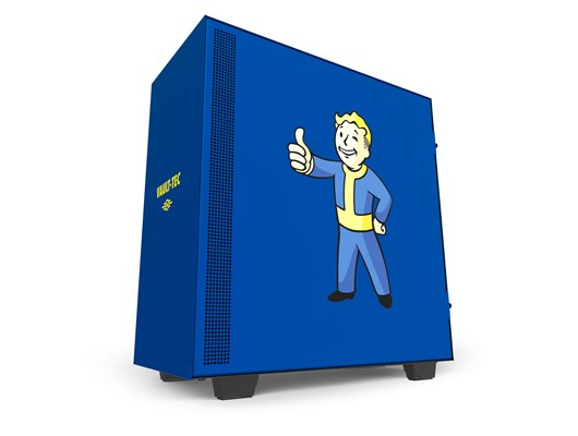 NZXT H500 Vault-Boy Edition Gaming Case - Blue