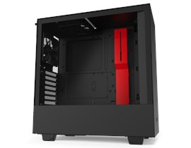 NZXT H510 Gaming Case - Red