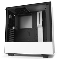 NZXT H510 Mid Tower Gaming Case - White USB 3.0