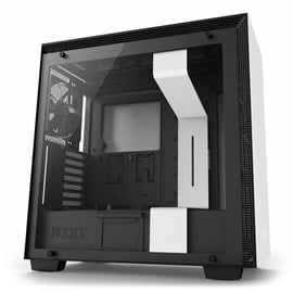NZXT H700 Mid Tower Gaming Case - White