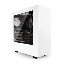 NZXT S340 Midi Tower White Case