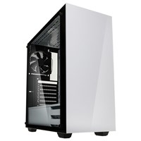 Kolink Stronghold Mid Tower Gaming Case - White USB 3.0