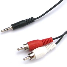 3m Phono To 3.5mm Audio Cable