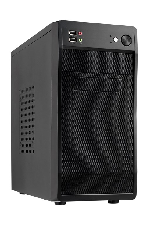 AvP Defender 100 Mini Tower Case - Black