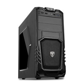 AvP Storm-P27 Mid Tower Gaming Case - Black