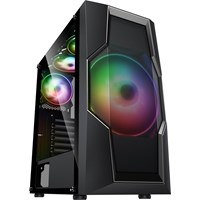 AvP Orasi Mid Tower Gaming Case - Black USB 3.0