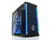 Galaxy III Gaming Black Midi Tower Case