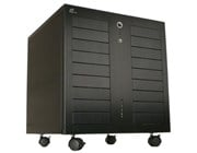 Lian Li PC-343B Black Pedestal Server Case