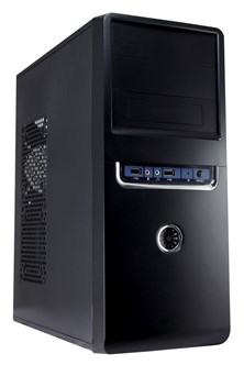 CiT 1018 Midi Tower Black Case