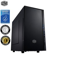 Cooler Master Silencio 352 Mid Tower Case - Black USB 3.0