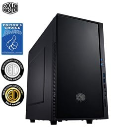 Cooler Master Silencio 352 Mid Tower Case - Black