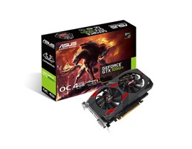 ASUS GeForce GTX 1050 Ti Cerberus 4GB