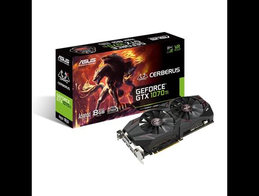 f8569ebfd611a7 ASUS GeForce GTX 1070 Ti 8GB Cerberus Boost Graphics Card ...