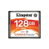 Kingston Canvas Focus 128GB Compact Flash Memory Card
