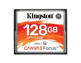 Kingston Canvas Focus 128GB CF Card