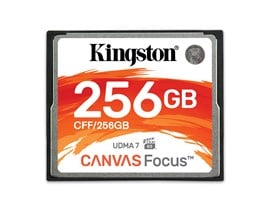 Kingston Canvas Focus 256GB CF Card