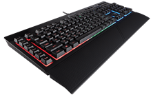 Corsair Gaming K55 RGB UK Layout Keyboard (Black)