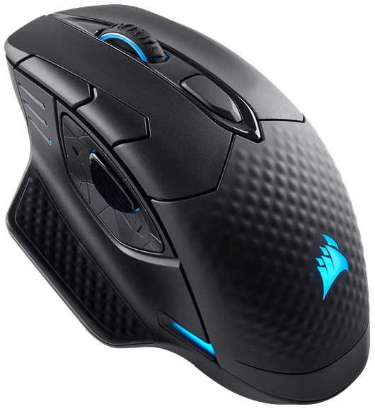 Corsair Dark Core RGB SE Performance Wired/Wireless Gaming Mouse - with Qi Wireless Charging (EU)