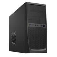CiT Elite Mid Tower Case - Black USB 3.0
