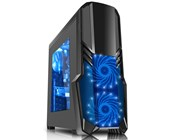CiT G Force Black Gaming Midi Tower Case