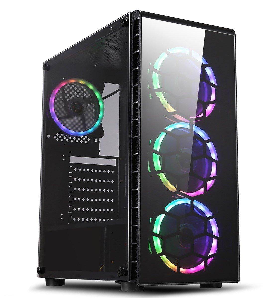 3-Port USB3.0 PC Desktop Computer Case External Power Supply Switch Reset Button