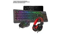 CiT Rampage USB Keyboard, Mouse and Headset Combo