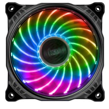 Akasa Vegas X7 120mm Motherboard-Controlled RGB LED Fan