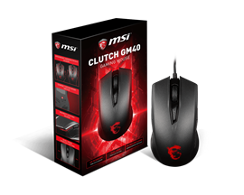 MSI Clutch GM40 USB Gaming Mouse (Black)